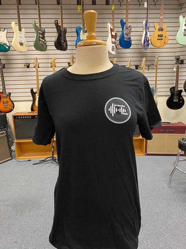 Black T Shirt Front